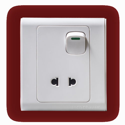 2 Pin Switch Socket