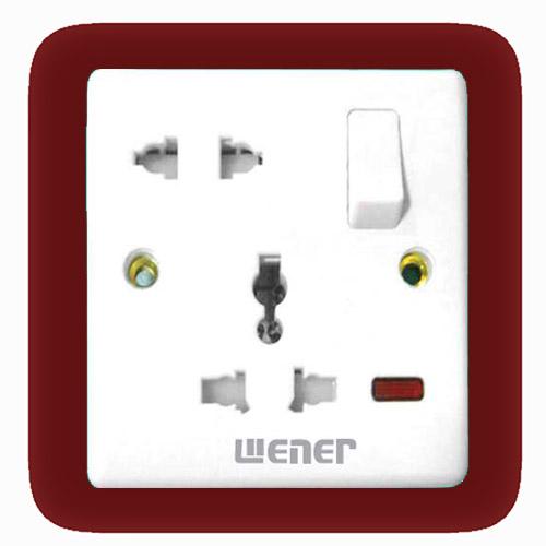 5 pin multi socket