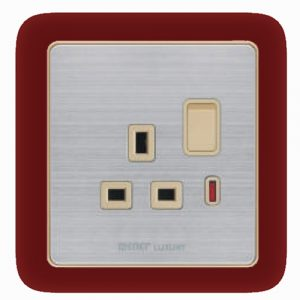 13 A Socket With Switch