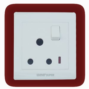 15A Socket with Switch