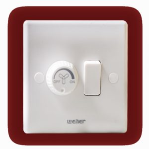 WENER Fan Dimmer with Socket